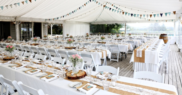marquee, hire and decor